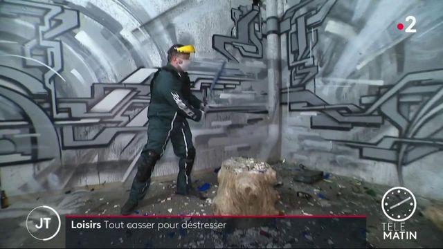 Covid-19 : des salles de destruction pour évacuer la pression liée aux restrictions