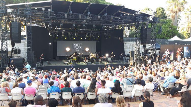 Première soirée de concertsauNice jazz festival. (ANNE CHEPEAU / RADIO FRANCE)