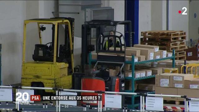 PSA : les salariés devront-ils renoncer aux 35 heures ?