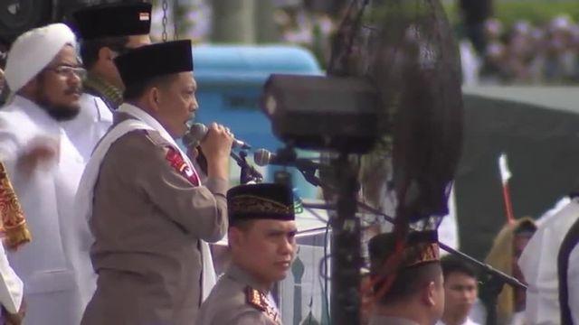Indonésie : imposante manifestation contre un gouverneur chrétien