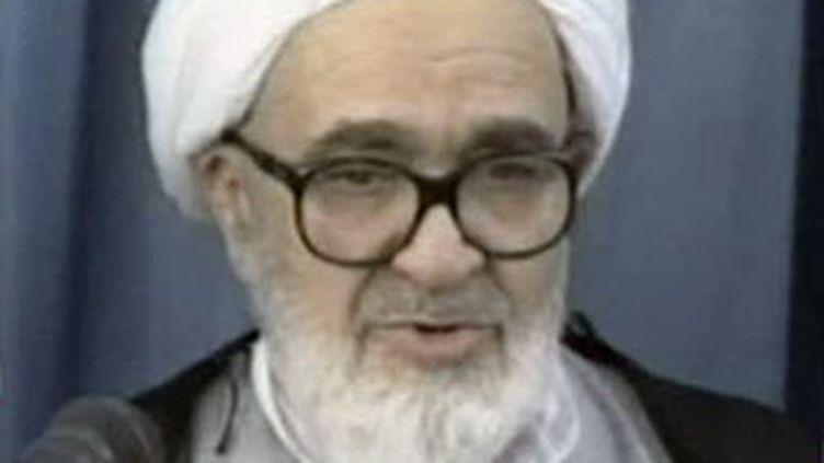 Le grand ayatollah Hossein Ali Montazeri (F2)