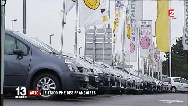 Automobile : les véhicules français ont la cote