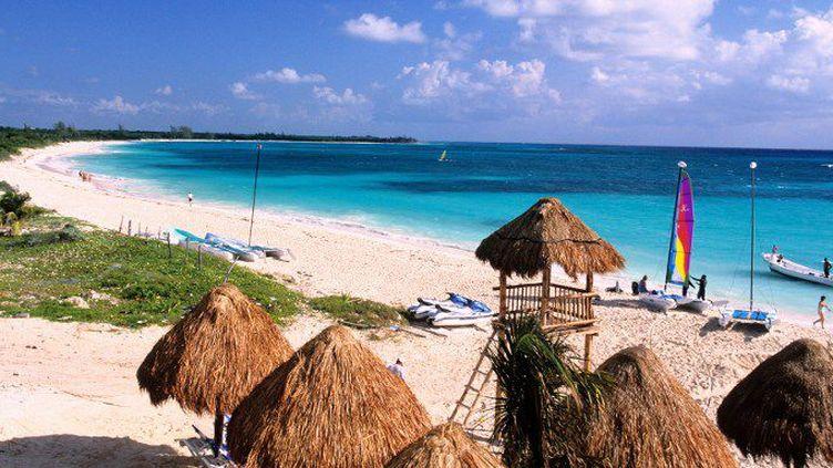 Playa Del Carmen, sur la Riviera Maya (Mexique). (GARDEL BERTRAND / HEMIS.FR)