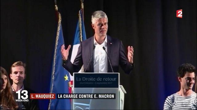Laurent Wauquiez : une opposition radicale à Emmanuel Macron