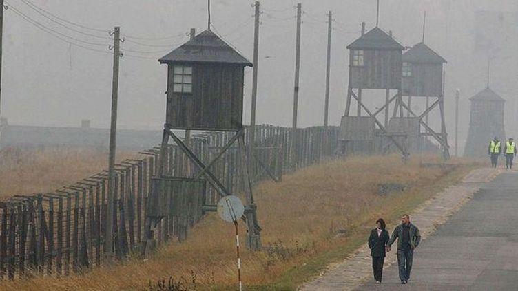 Le camp de concentration de Madjanek (Pologne)  (CZAREK SOKOLOWSKI/AP/SIPA)