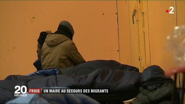 Froid : un maire au secours des migrants