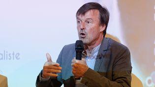 L'ancien ministre de la Transition écologique et solidaire, Nicolas Hulot, le 25 avril 2019 à Paris. (DANIEL PIER / NURPHOTO / AFP)