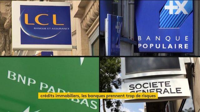 Crédits immobiliers : la Banque de France tire la sonnette d'alarme