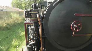 En Vendée, il est possible de monter à bord de vieilles locomotives. Une manière de voyager dans le temps tout en découvrant des lieux magnifiques. (CAPTURE ECRAN FRANCE 3)