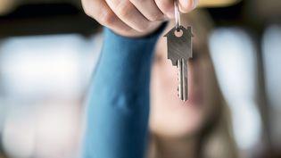 Une clef, symbole pour un propriétaire immobilier. Illustration (JONAS HAMERS / BELGA MAG)