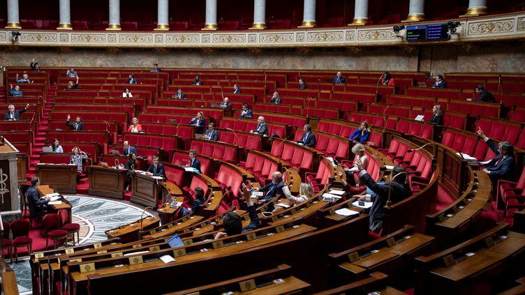 L'Assemblée nationale, le 8 mai 2020. (THOMAS SAMSON / AFP)