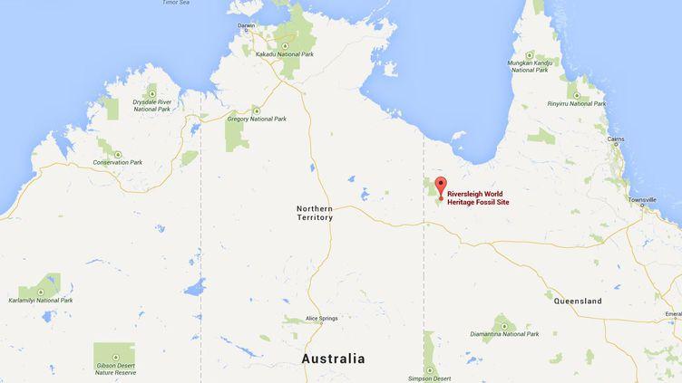 Le site préhistorique de Riversleigh (Australie) est classé au patrimoine mondial de l'humanité. ( GOOGLE MAPS / FRANCETV INFO )