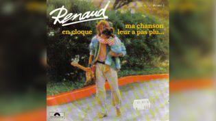 "Pochette du disque ""En cloque"" de Renaud. (Polydor)"