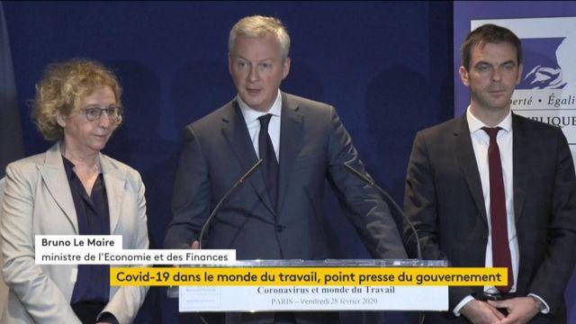 VIDEO. Covid-19 : Bruno Le Maire fait le point sur la situation pour l'économie
