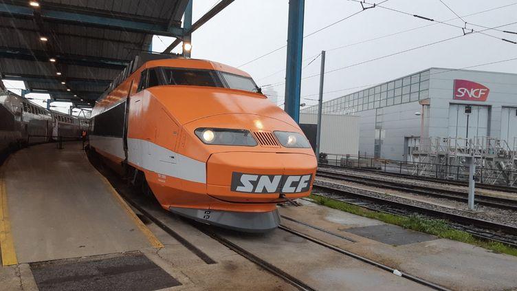 Patrick, le premier TGV de la SNCF, a pris sa retraite en 2020. (HAJERA MOHAMMAD / RADIO FRANCE)