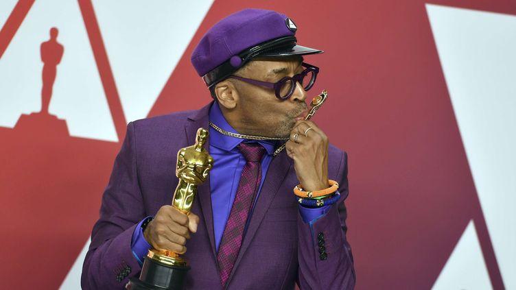 Le premier Oscar de Spike Lee  (Jordan Strauss/AP/SIPA)