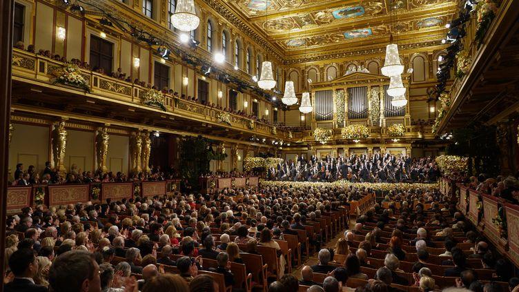 Le Concert du Nouvel An de Vienne ici le 1er janvier 2019. (ROMAN ZACH-KIESLING / APA-PICTUREDESK)