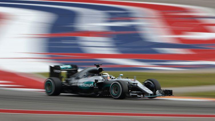 Lewis Hamilton vainqueur à Austin en 2016 (CLIVE MASON / GETTY IMAGES NORTH AMERICA)