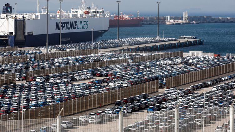 Port de Tanger, le 28 juin 2019. (- / AFP)