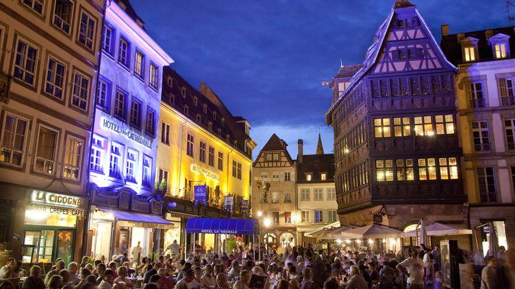 Le cœur historique de Strasbourg (Bas-Rhin) photographié en 2010. ( AFP )