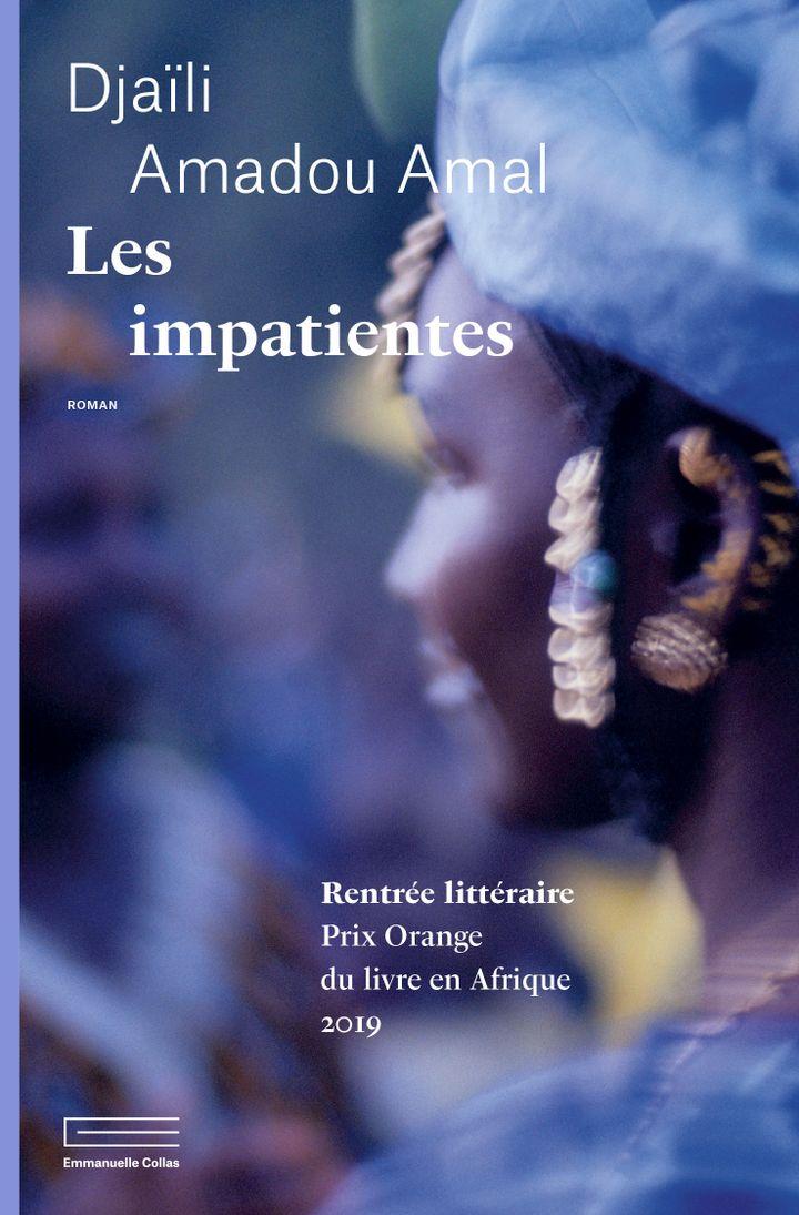 """Couverture du roman """"Les impatientes"""", de Djaïli Amadou Amal (@Editions Emmanuelle-Collas)"""