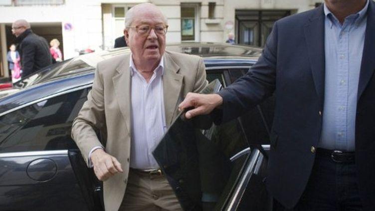 L'ancien président du FN, Jean-Marie Le Pen, le 16 juin 2011 à Paris (AFP - Lionel Bonaventure)