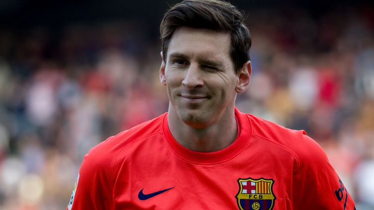L'attaquant du FC Barcelone Lionel Messi, lors d'un match à Séville (Espagne), le 11 avril 2015. (GONZALO ARROYO MORENO / GETTY IMAGES EUROPE)