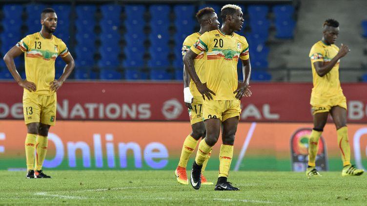 La déception des joueurs maliens (ISSOUF SANOGO / AFP)