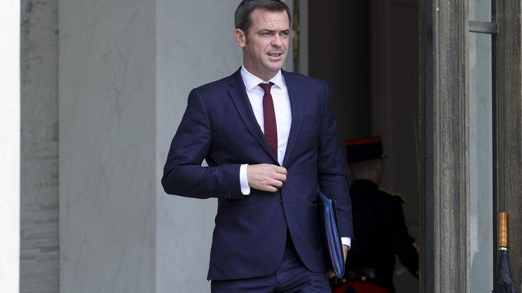 Le ministre de la Santé Olivier Véran, le 17 juin 2020 au palais de l'Elysée, à Paris. (MAXPPP)