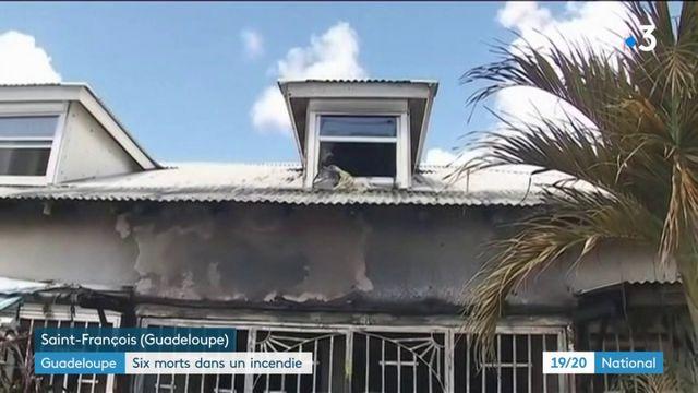 Drame en Guadeloupe : six morts dans un incendie