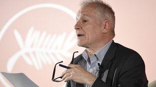 Thierry Fremaux, le délégué général du Festival de Cannes, le 18 avril 2019 à Paris. (BERTRAND GUAY / AFP)