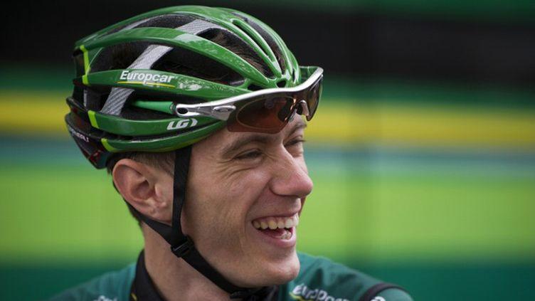 Pierre Rolland (Europcar) tout sourire (LIONEL BONAVENTURE / AFP)
