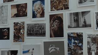 Des photographes sont exposés dans une boutique de laine à Arles  (France 3/ Culturebox)