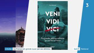 La couverture du livre de Carl Aderhold (France 3)