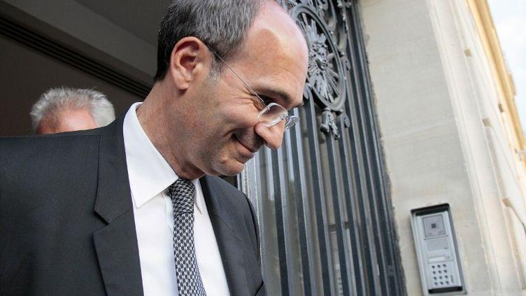 L'ancien ministre du Budget, Eric Woerth, le 4 mai 2011, à Paris. (JACQUES DEMARTHON / AFP)