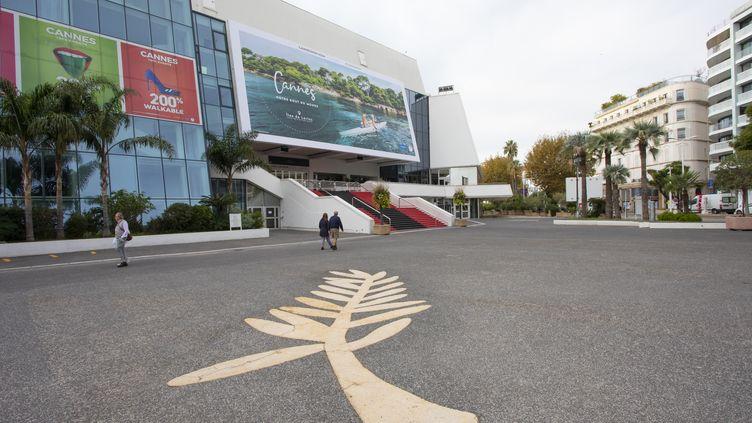 Cannes, Palais des Festivals; 31 octobre 2020 (ERIC DERVAUX / HANS LUCAS)