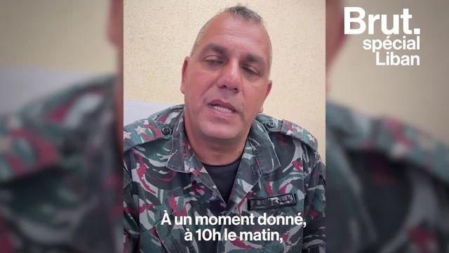 """Le 4 août 2020, dix de ses collègues pompiers ont été envoyés sur """"un feu normal"""" au port de Beyrouth. Ils sont tous morts dans la terrible explosion. Un an après, Michel veut connaître la vérité."""
