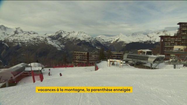 Savoie : un début de vacances particulier dans les stations de ski