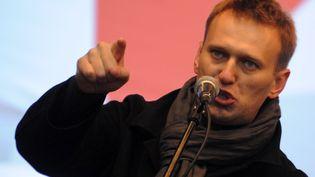 Alexei Navalny, le 24 décembre 2011 à Moscou (Russie). (KIRILL KUDRYAVTSEV / AFP)