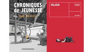 L'UN TRIME, L'AUTRE PAS (GUY DELISLE, DELCOURT / FREDERIK PEETERS, ATRABILE)