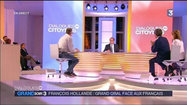 Dialogues citoyens : François Hollande passe un grand oral auprès des Français