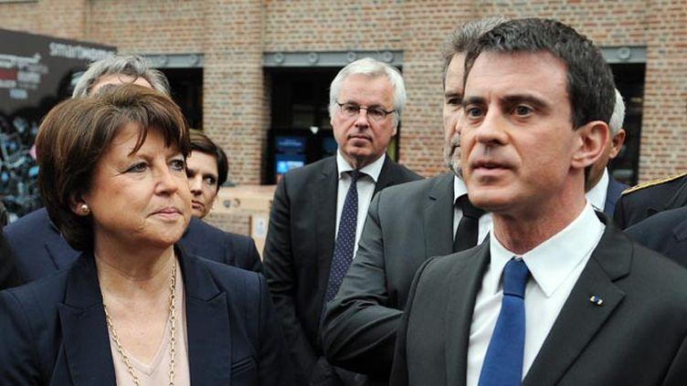 (L'entourage du Premier ministre aimerait voir la maire de Lille partir aux régionales de décembre © MaxPPP)
