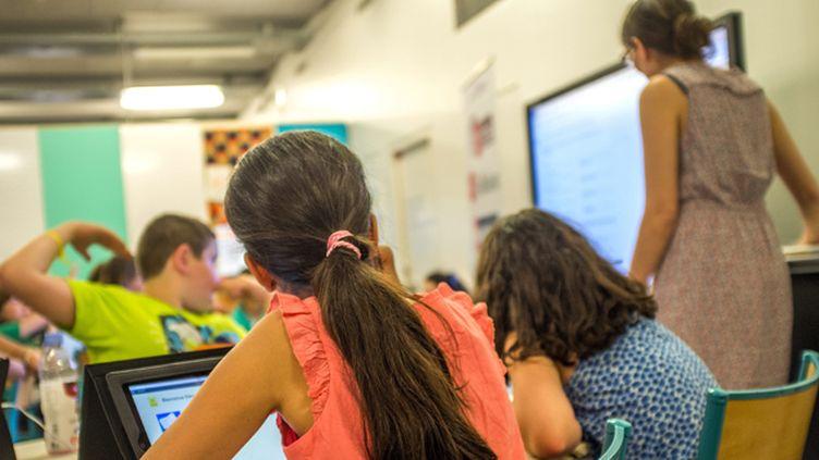 (Les élèves auront des cours d'éducation morale cette année, dès le CP  © MaxPPP)