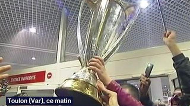 Les Toulonnais fiers de leurs champions d'Europe
