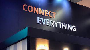La connectitivé et l'intelligence artificielle sont au coeur dusalonMobile World Congress de Barcelone (Espagne) (RADIO FRANCE / JEROME COLOMBAIN)