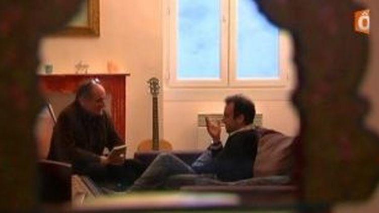 Rencontre avec Jérôme Ferrari, lauréat du prix roman France Télévisions  (Culturebox)