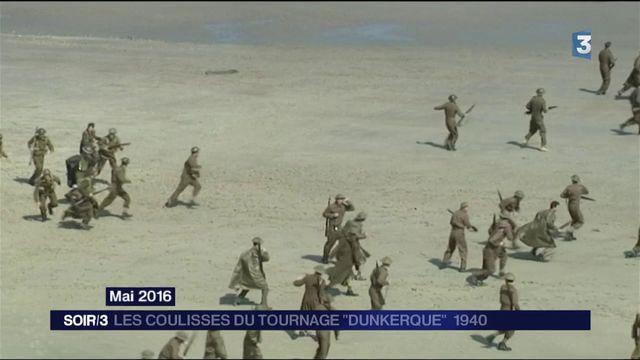 """Dans les coulisses du tournage de """"Dunkerque"""""""