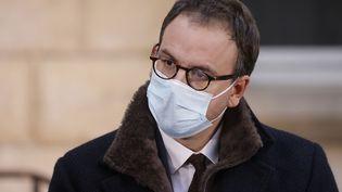 Aurélien Rousseau, directeur général de l'ARS d'Île-de-France, 15 octobre 2020. (LUDOVIC MARIN / POOL / AFP)