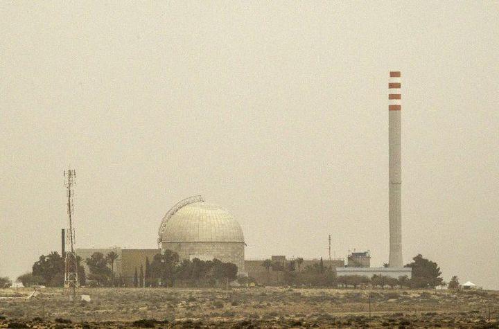 Vue partielle du complexe nucléaire de Dimona en Israël (8 mars 2014) (AFP - Jack Guez)
