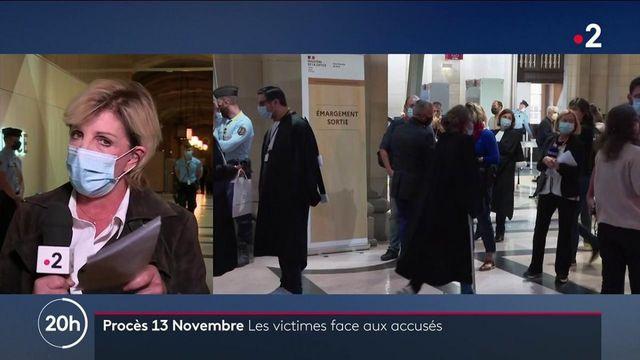 Procès des attentats du 13-Novembre : face à la détresse des victimes, les accusés impassibles